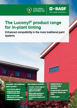 Luconyl product range for in-plant tinting